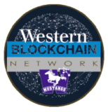 western blockchain logo, bitJob, digital currency